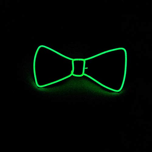 TianranRT Halloween Licht Auf Hals LED Fliege Krawatte Männer/Jungen Licht Auf Fliege Krawatte ()