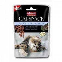 Animonda Katze Futter Cat Food Katzensnack Kausnack Cat-Snack Huehnchenfleisch & Gruenlipp-Muschel 50g-1PACK