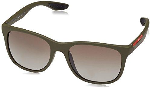 Prada Sport Sonnenbrille Mod. 03OS UBW4M1 (55 mm) grün, 55