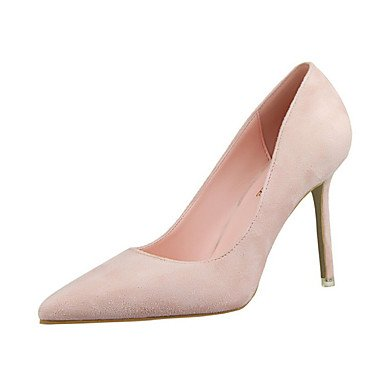 Moda Donna Sandali Sexy donna tacchi PU Casual Stiletto Heel altri nero / giallo / il verde / rosa / viola / rosso / arancio / Burgundy Altri Green