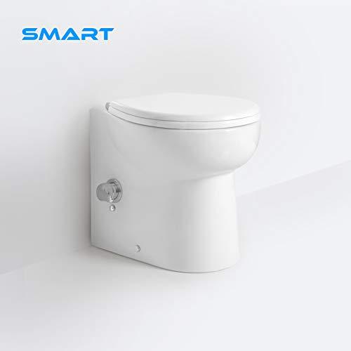 Wc Smart con trituratore e bidet integrato silenzioso e compatto
