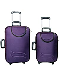 "UNIVERSAL TRAVELLER BAG-STERLING -SET OF 2 BAGS (PURPLE) 24""+20"""
