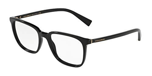 Dolce & Gabbana Herren 0DG3298 Optische Rahmen, Schwarz (Black) 53