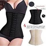 #8: Maxeon All Season Waist Trainer Slim Belt Hot Body Shapers Slimming Modeling Strap Corset Tummy Control Cincher Slimming Girdle