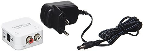 Bluetooth-ohrhörer-konverter (Cablematic Digitaler Audio-Konverter 192 kHz Analog-Toslink und koaxial)