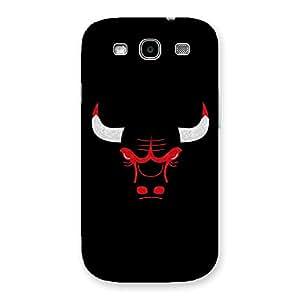Cute Bull Multicolor Back Case Cover for Galaxy S3 Neo