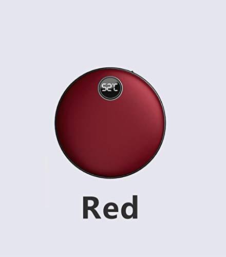 AOGXQ Handwärmer Heizkissen Wiederaufladbare USB Praktische Heizung 4000/5200 Mah Energienbank Tragbare Doppelseitige HeizungHandwärmerAuf Aliexpress, Rot, 4000 Mah