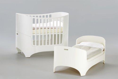 Leander Babybett mit Juniorkit Weiss RAL-9016