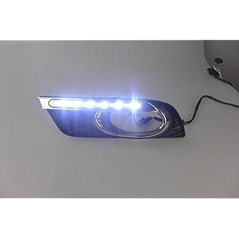 XRQ all' ingrosso LED DRL luce di marcia diurna luce guida per 2011–13Honda Civic 9con giallo Turn segnali