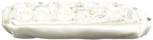 Menbur Wedding Belen 82590 Pochette Damen 20x12x4 Cm (bxhxt) Elfenbein (ivory 04)