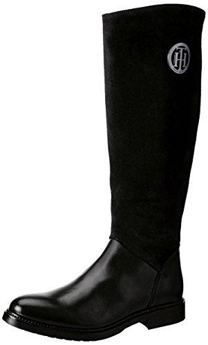 Tommy Hilfiger H1285olly 18c, Bottes Femme Noir (Black)