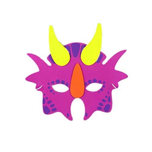 diadia Sortiert Schaumstoff Tier Masken für Geburtstag Partyzubehör -