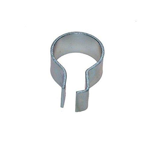 Auspuff-Schelle für 31-34 mm-Rohre für Mofas, Moped, Mockiks und Kleinkrafträder