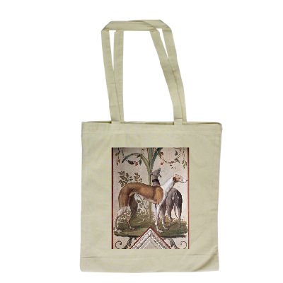 two-greyhounds-mural-by-pietro-rotati-long-handled-shopping-bag