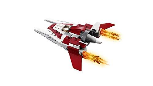 LEGO® Creator L'avion futuriste Jeu de construction, 7 Ans et Plus, 157 Pièces  31086