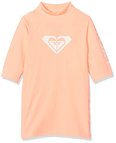Roxy Mädchen Whole Hearted Surf Tee, Souffle, 12/L 13 Souffle