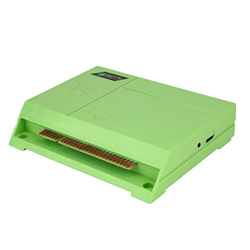 WOSOSYEYO 999 für Pandoras Box 5s Jamma Arcade 8G RAM Classic Multi Spiel-Brettspiel-Entertainment-System Top-Chipsatz (Grün) In 1 - Chipsatz Ram
