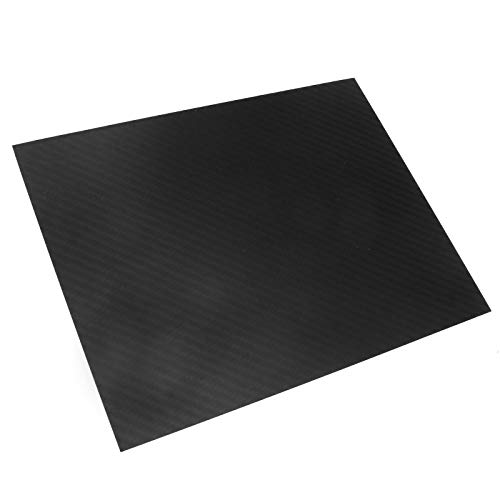 OTOTEC 3 K Carbon Fiber Plate Plain Weave Panel Sheet 0.5 - 2 mm Spessore, 2 mm