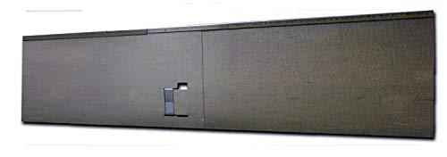 HN Kernstützen Metallwaren Rasenkante, Beeteinfassung und Wegbegrenzung aus Metall in feuerverzinkt 18,5 cm x 1,20 m; 3,45 m; 5,70 m; 11,40 m; 21,60 m, Farbe :verzinkt, Verlegelänge :19er Set 21.60 m