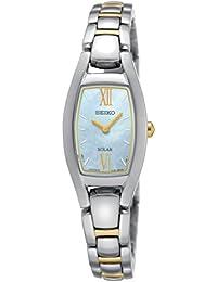 Seiko Damen-Armbanduhr Solar Analog Quarz Edelstahl SUP312P1