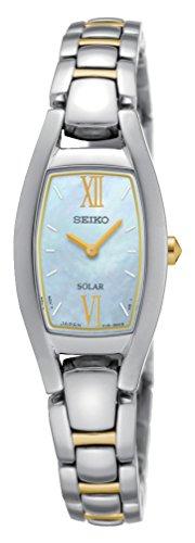 Seiko Damen-Armbanduhr Solar Analog Quarz Edelstahl - Damen Seiko Uhr Solar