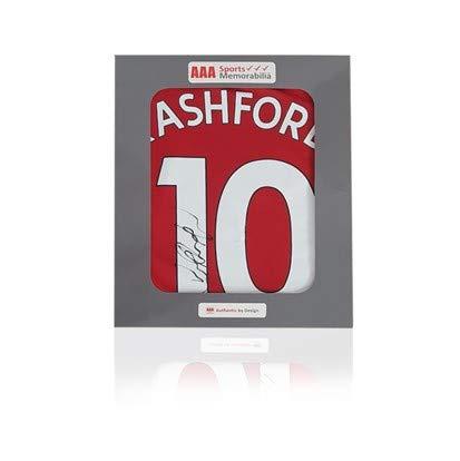 Marcus Rashford, Maglia del Manchester United 2018-19#10, in Confezione Regalo AAA
