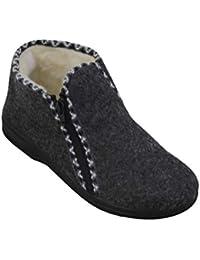 7c3ca6902c29c Bawal Zapatillas de Fieltro para Mujer Calentado con Lana Invierno Zapatos  Calientes 36-41 EU
