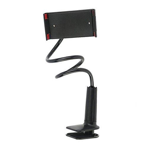 Halterung für Handy und Tablet Halterung Telefon Auto Halterung Faul Universal Support-Tisch Universal-360?? für iPad-Tabletten von Telefon schwarz