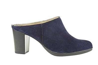 Lince by Gianni Zenna V83110, Chaussures Derby Femme - Bleu - Bleu, 36 EU EU