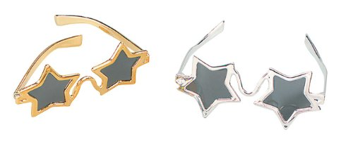 Star Glasses Gold