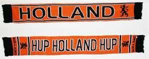 Fanschal Holland Oranje 2 von Yantec