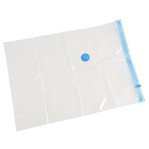 TOOGOO (R) 10 paquetes de 70x50 Vacio Comprimido Almacenamiento Almacenamiento de ropa Space Saver Seal Bolsas