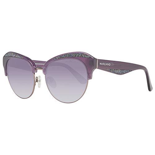 Guess Damen by Marciano Gm0777 78B 55 Sonnenbrille, Violett,