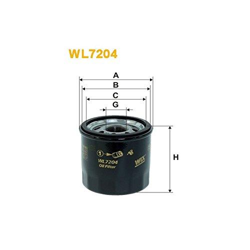 Wix Filter WL7204 - Filtro De Aceite