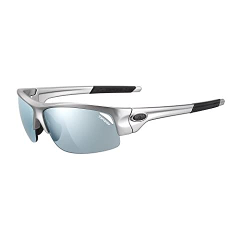 TIFOSI OPTICS Tifosi Saxon Single Lens Sunglasses - Gloss Gunmetal / 1110400381 / by Tifosi Optics