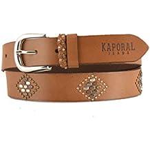 Kaporal Jeans - Ceinture femme 100% cuir de Buffalo Jeans Elir 10094065175
