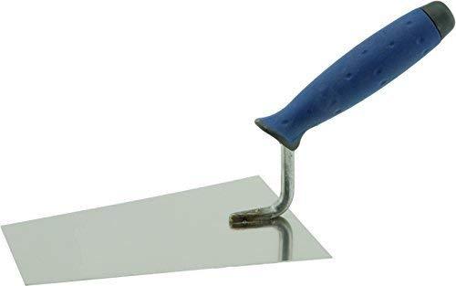 Putzkelle Maurerkelle Trapezkelle Glättkelle ROSTFREI SOFTGRIFF 140 oder 160 mm (160 x 115x 72mm)