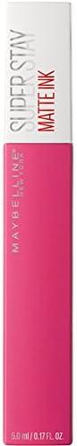 Maybelline New York Tinta Labbra SuperStay Matte Ink, Rossetto Matte Liquido a Lunga Tenuta, Romantic (30), 5