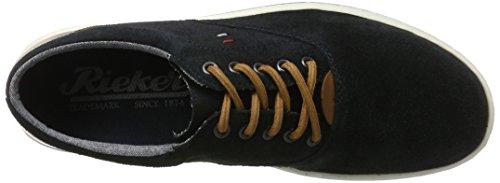 Rieker 19010, Sneakers Basses Homme Bleu (Pazifik/amaretto / 14)