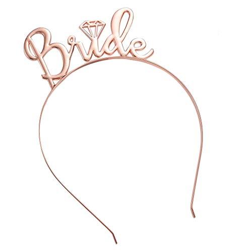 Bilder Kostüm Von Mardi Gras - Viesky Damen-Diadem für Hochzeit, Brautjungfer, Brautjungfer, Party, Metallic-Glitzer-Krone