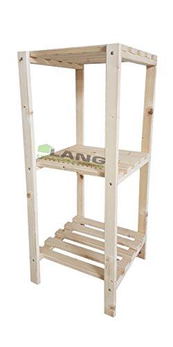 !!!Aktion!!! Holzregal, Bücherregal Fichte natur 40cm breit/90cm hoch /30cm tief 3 Böden