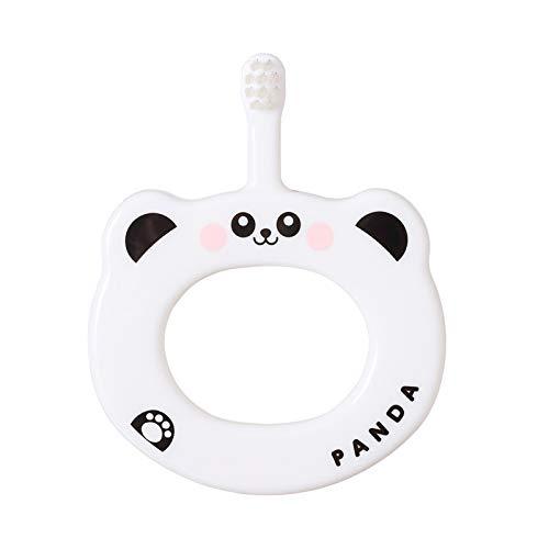 XINJIA Baby-Zahnbürste Baby-Trainings-Zahnbürste, Baby-Trainings-Zahnbürste Ringförmige rutschfeste weiche Kinderzahnbürste
