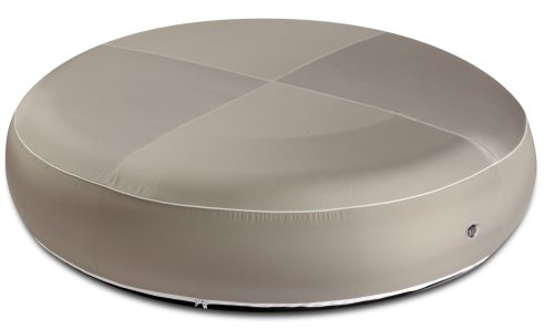 My Note Deco 064485 Air Concept - Puf hinchable para exteriores (160 cm), color gris oscuro