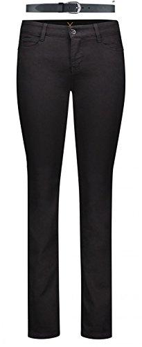 MAC Dream Damen Jeans Hose 0355l540190, Farbe:D999 black black;Größe:W42/L32
