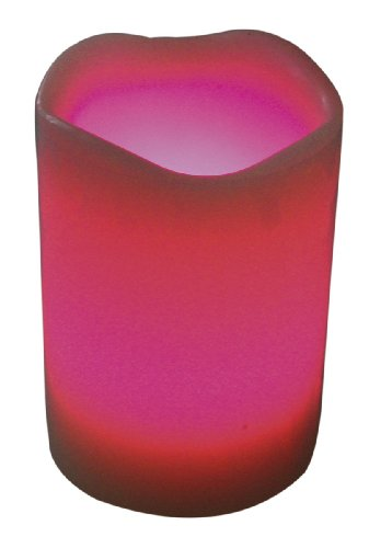 HEITRONIC LED vela de cera con MAJA 89 x 102 mm