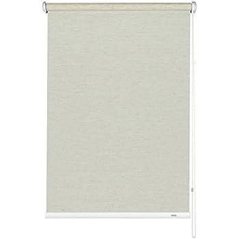 Montage au plafond Mural ou sur niche Colour: Champagne GARDINIA Store enrouleur /à traction lat/érale LxH Kit de montage inclus 52 x 180 cm Opaque Transparent