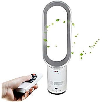 XM bladeless fan Mini Ventilateur sans pales Ventilateur /électrique Ventilateur de Bureau Ventilateur Silencieux Ventilateur de Circulation dair 2 Modes Vitesse du Vent-Noir