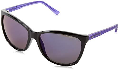 Guess Damen GU7308-60C46 Sonnenbrille, Schwarz (Negro), 60
