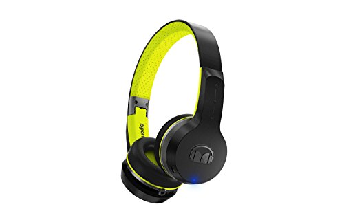 Wireless Monster Kopfhörer (Monster iSport Freedom Bluetooth Wireless On-Ear Kopfhörer schwarz/grün)