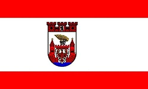 U24 Fahne Flagge Berlin Spandau Bootsflagge Premiumqualität 30 x 45 cm